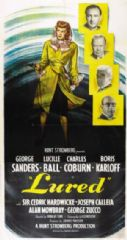 Lured 1947 DVD - George Sanders / Lucille Ball